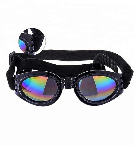 Ogquaton Gafas de Sol Plegables para Mascotas Protector de ...