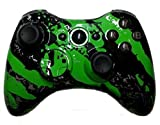 Xbox 360 Green Hydro Dipped / Modded Rapid Fire Controller / Sniper Quick Scope / Drop Shot / Quick Aim / Auto Aim / Mimic / Burst / For COD / Modern Warfare / Black Ops / Gears of War / All Games For Sale
