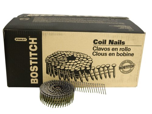 BOSTITCH AC4DR080BDP Siding and Fencing Nails, 1-1/2-Inch by 0.080-Inch Ring Shank by BOSTITCH