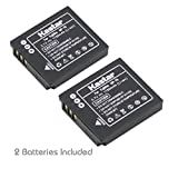 Kastar Battery (2-Pack) for Fujifilm NP-70, Panasonic Lumix CGA-S005, DMW-BCC12, DE-A12 work with Fuji FinePix F20, F20 Zoom, F40fd, F45fd, F47fd and Panasonic Lumix DMC-FS2, DMC-FX1, DMC-FX3, DMC-FX7, DMC-FX8, DMC-FX9, DMC-FX10(FX10GK), DMC-FX12, DMC-FX50, DMC-FX100, DMC-FX150, DMC-FX180, DMC-LX1, DMC-LX2, DMC-LX3, Leica D-LUX3, Leica C-LUX 1, Leica D-LUX2, Ricoh Caplio R3, Ricoh Caplio GR Cameras