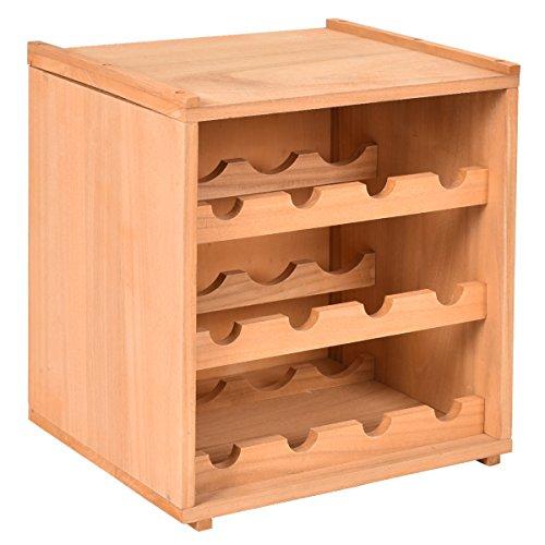Giantex Storage Cabinet Display Shelves