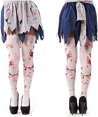 learnarmy Medias de Sangre Estilo Zombie de Halloween, Medias ...
