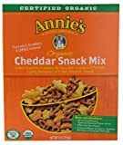 Annies Homegrown Organic Cheddar Snack Mix -- 9 oz
