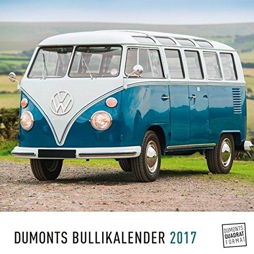DuMonts Bulli-Kalender 2017 - VW-Bus, Oldtimer, Retro - 24 x 24 cm im Quadratformat