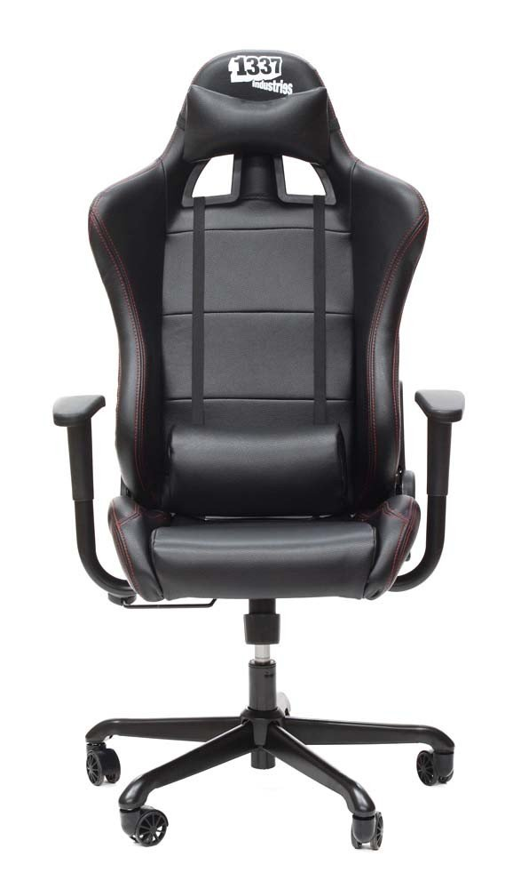 1337 Industries GC707 - Sillón para Gaming (PVC, PU), Color Negro: Amazon.es: Informática