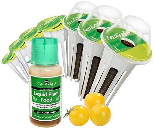 (AeroGarden Miracle-GRO Golden Harvest Cherry Tomato Seed Pod Kit (7-Pods) by AeroGrow)