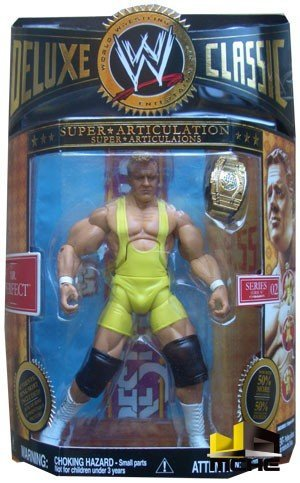 WWE - Shawn Michaels - Deluxe Classic - Super Articulation - Series 02 - Authentic Ring Skirt Included - Mint - New - Collectible - (O)