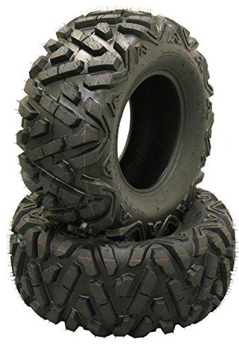 (2 New WANDA ATV/UTV Tires 24x10-11 24x10x11 Deep Solid Non-Directional Tread …)