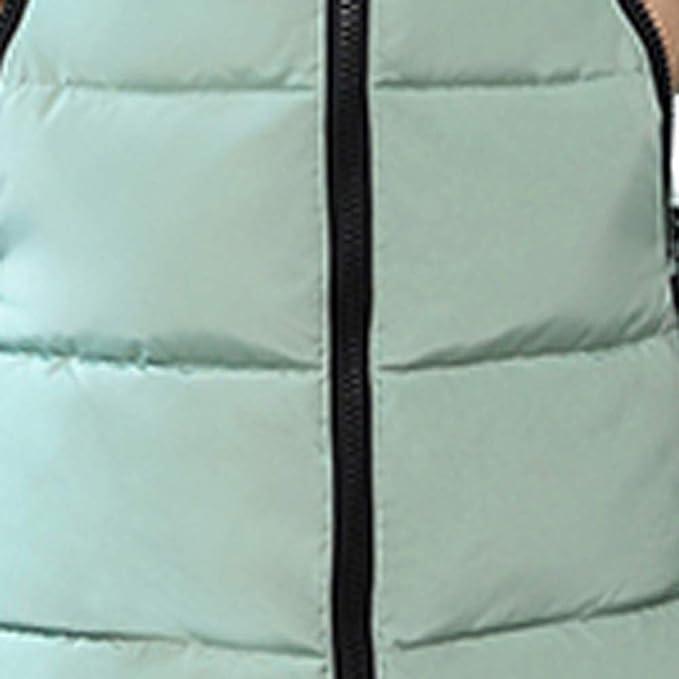 BBestseller Moda Caliente Hooded Chaqueta de algodón Delgado Encapuchado Abajo Acolchado Largo con Cremallera y Bolsillo Parka Abrigo Mujer: Amazon.es: Ropa ...