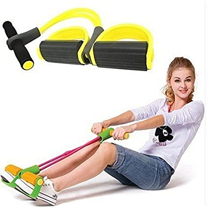 Buy Okayji Rubber Pull String Lose Waist Weight Reduce Tummy Trimmer Gym Exercise Equipment Crossfit Foot Rally Rope Fitness 1 Piece Online At Low Prices In India Amazon In