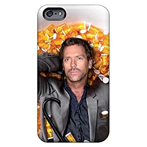 dirt-proof phone cover skin Iphone Hard Cases With Fashion Design Extreme iPhone 6 plus 5.5 - house m.d. hugh laurie