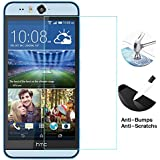 HTC Desire Eye Screen Protector, UrSpeedtekLive 2.5D Rounded Edge 0.26 mm Ultra-thin (HD) Clear Tempered Glass Screen Protector for HTC Desire Eye E1
