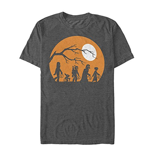 Star Wars Men's Halloween Characters Trick or Treat Charcoal Heather -