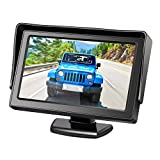 Wired 4.3'' LCD Screen Car Backup Camera Rearview Camera Monitor M1 Portable Suit for Camera S1/S2