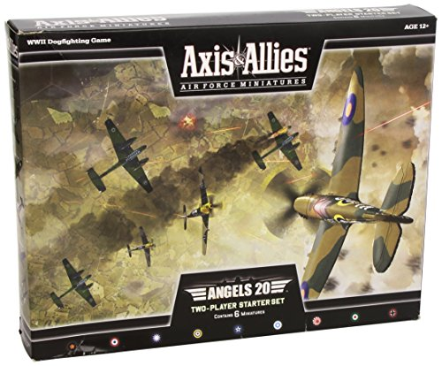 Wizards of the Coast Axis and Allies Miniatures Angels 20 Air Force Starter Set Miniature Game (And Axis Miniatures Allies)