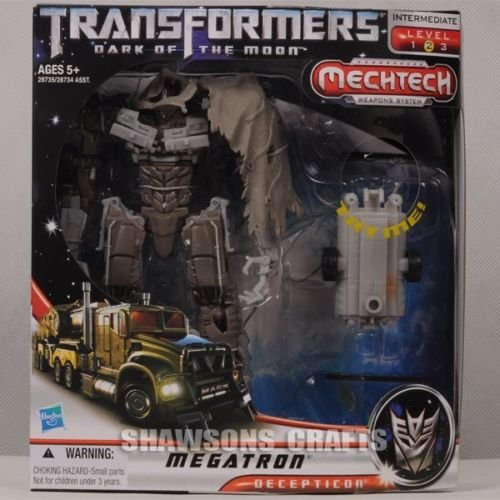 [TRANSFORMERS MOVIE 3 DARK OF THE MOON VOYAGER CLASS MEGATRON ACTION FIGURE] (Arcee Prime Costume)