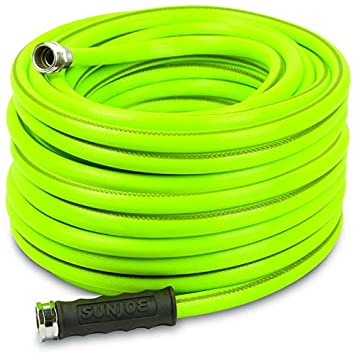 100 foot garden hose. Sun Joe AJH12-100 100-Foot 1/2\u0026quot; Heavy-Duty Garden 100 Foot Hose E