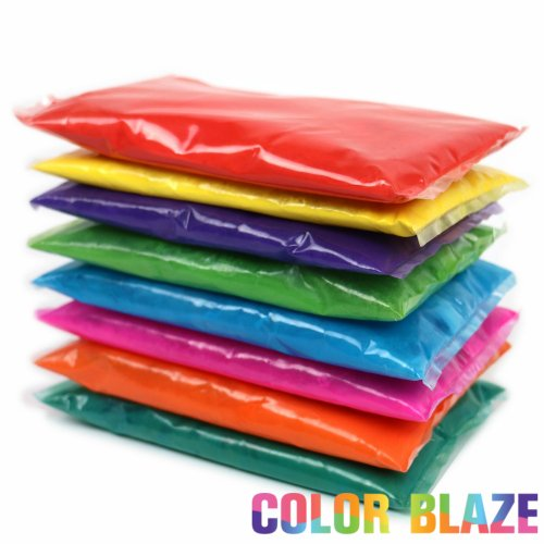 25 Assorted Color Powder Packets - Ideal for color run events, youth group color wars, Holi events and more!