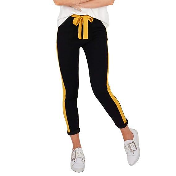 Pantalones Mujer Verano 2019 Largos Moda Vestir Rayas Ajustados Para