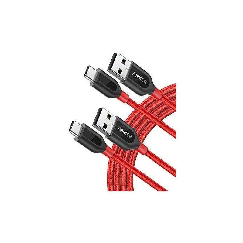 Anker [2-Pack, 6ft] Powerline+ USB-C to