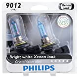 Automotive : Philips 9012CVB2 CrystalVision Ultra Upgrade Headlight Bulb (9012 HIR2), 2 Pack