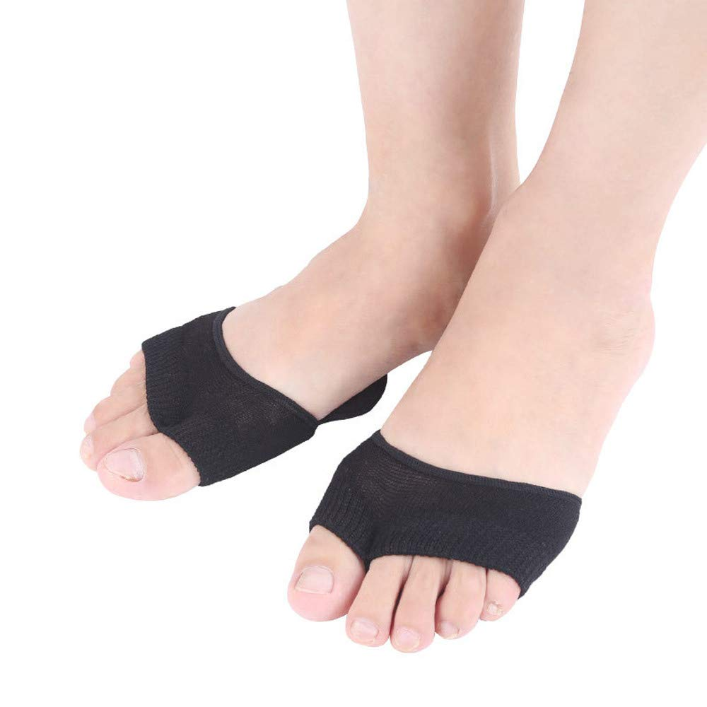 USHOT Sweat-Absorbent Cotton Thin Section Two-Toe Non-Slip Thumb Aligner Lady With Pad by USHOT (Image #6)