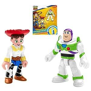 Buzz Lightyear & Jessie Toy Story Imaginext Figures 2.5″