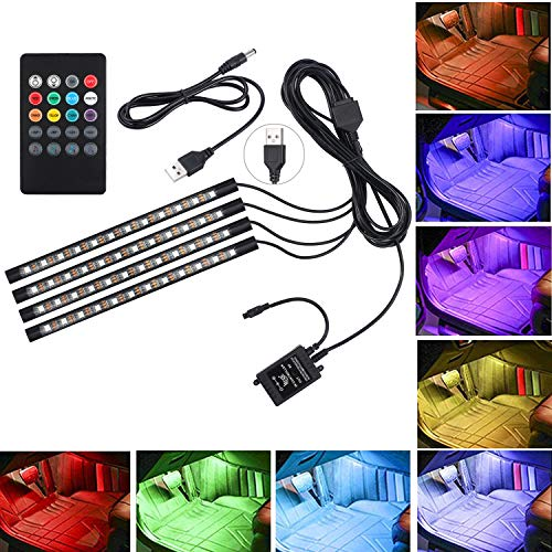 Led Interior Ambient Light Kit With Eight Colors in US - 4