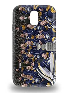Slim Fit Tpu Protector Shock Absorbent Bumper NHL Buffalo Sabres Logo 3D PC Case For Galaxy S4 ( Custom Picture iPhone 6, iPhone 6 PLUS, iPhone 5, iPhone 5S, iPhone 5C, iPhone 4, iPhone 4S,Galaxy S6,Galaxy S5,Galaxy S4,Galaxy S3,Note 3,iPad Mini-Mini 2,iPad Air )