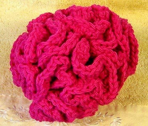 Bath Pouf Bath Accessories Cotton Loofah Kids Poufs Crocheted
