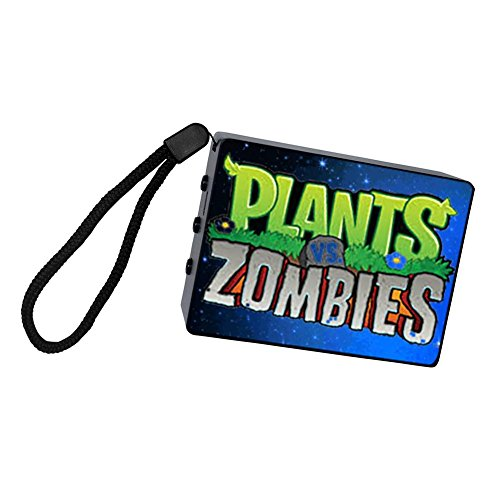 Price comparison product image DDV Plants vs. Zombies PVZ Portable Bluetooth Speakers,Black