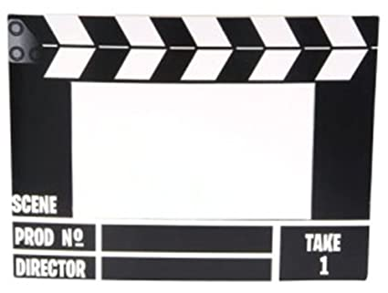 Amazon.com: New Hollywood Movie Director Clap Board Picture Frame ...