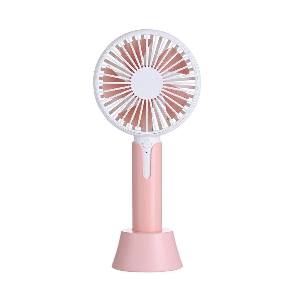 XFS Creative Fashion Summer Fansmall Fan,Portable USB Charging Desktop Office Handheld Electric Mini Student Dormitory Fan by XFS