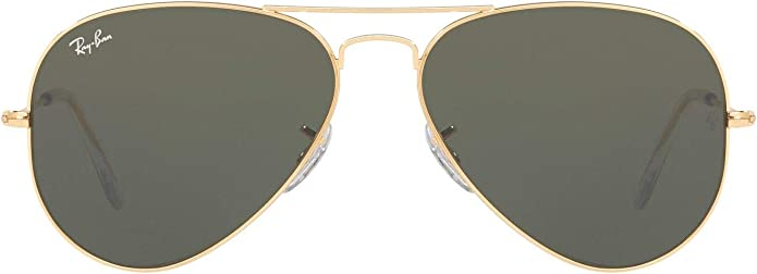 Ray-Ban Rb3025 Aviator Classic Sunglasses - Gold/Green