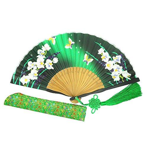 Wise Bird Charming Elegant Modern Woman Handmade Bamboo Silk 8