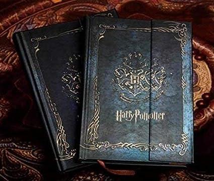 Diario de Harry Potter 2017-2018-2019 con calendario retro, tapa dura, agenda planificadora, libro de regalo
