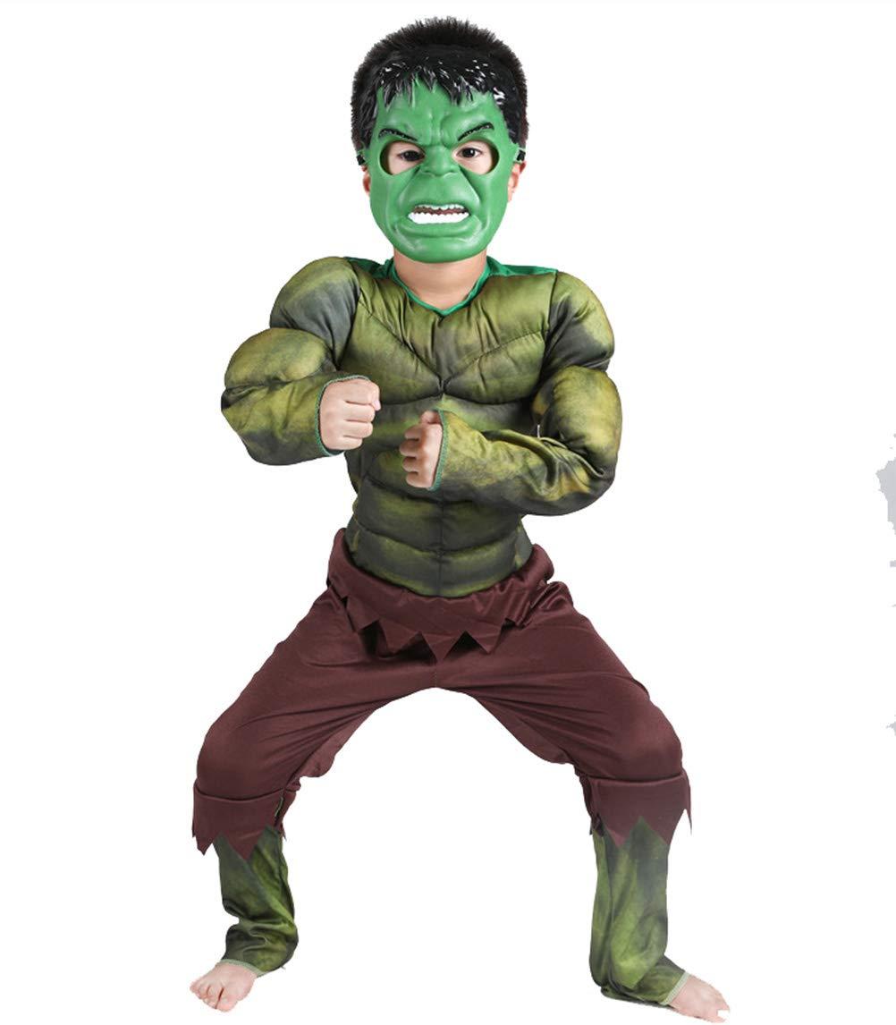 Lvvvs NiñO Musculo De Hulk Disfraz De Halloween Cosplay ...