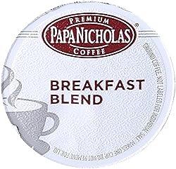 PapaNicholas Coffee Single Serve Coffee Cups Fits Keurig K Cup Brewers made by PapaNicholas Coffee