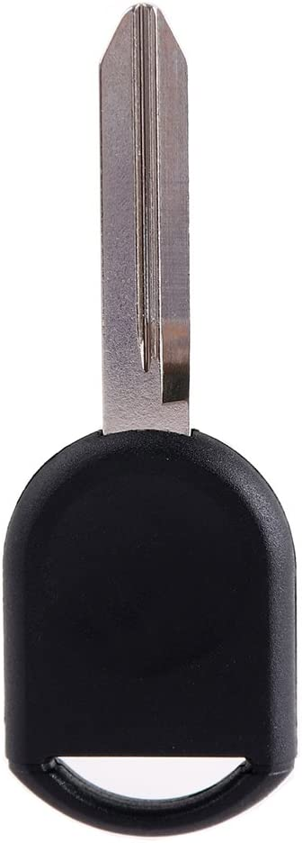 ECCPP Replacement fit for Uncut Transponder Ignition Car Key for Ford Series H84-PT Pack of 10