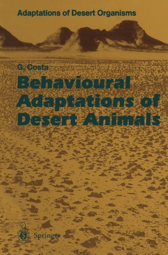 Behavioural Adaptations of Desert Animals (Adaptations of Desert -