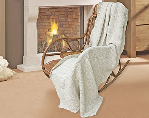 100% Pure Flax Linen Blanket ()