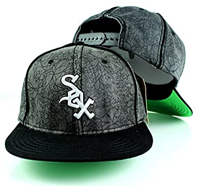 MLB American Needle Limited Edition District Adjustable Snapback Hat (Chicago White Sox)
