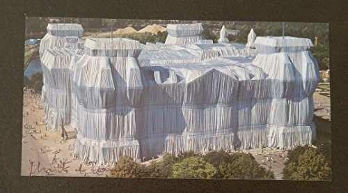 Artists Christo & Jeanne Claude Hand Signed Postcard Todd Mueller COA from Unknown
