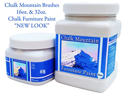 Chalk Mountain Supply Quality (32oz & 16oz) 44 Beachy & Earthy Chalk Furniture Paint Colors #41)