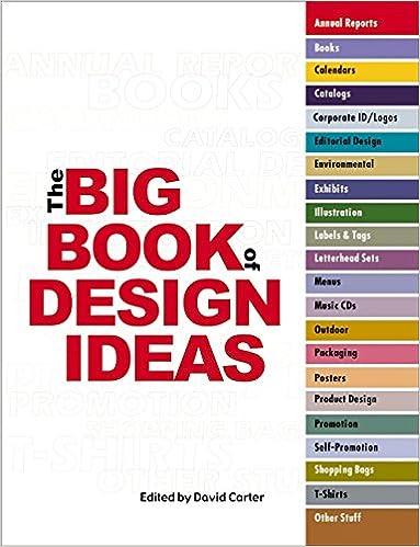 The Big Book Of Design Ideas Carter David E 9780060087630