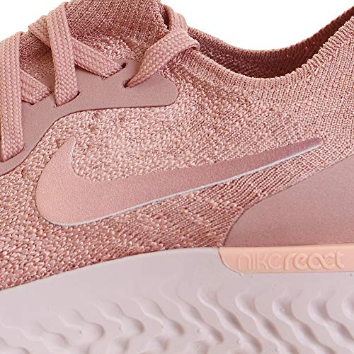 tropic Flyknit WMNS Low Nike Sneakers Women's Pink Top React Tint Epic Pink Rust B744fqI