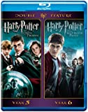 Harry Potter Double Feature: Harry Potter and the Order of the Phoenix /Harry Potter and the Half-Blood Prince [Blu-ray]