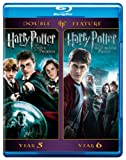 harry potter blu ray box set - Harry Potter Double Feature: Harry Potter and the Order of the Phoenix/Harry Potter and the Half-Blood Prince [Blu-ray]
