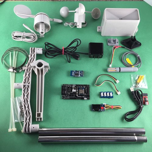 Weatherstation Kit for Arduino IoT