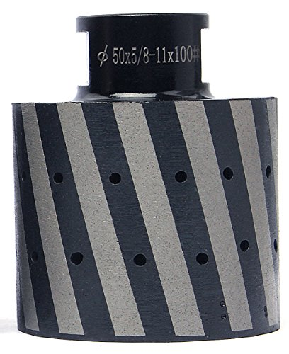 Z-Lion Diamond Drum Profiler with 5/8-11 Thread 2 Inch for Polishing Granite Concrete Stone Sink Hole(Grit 100) by Z-LION